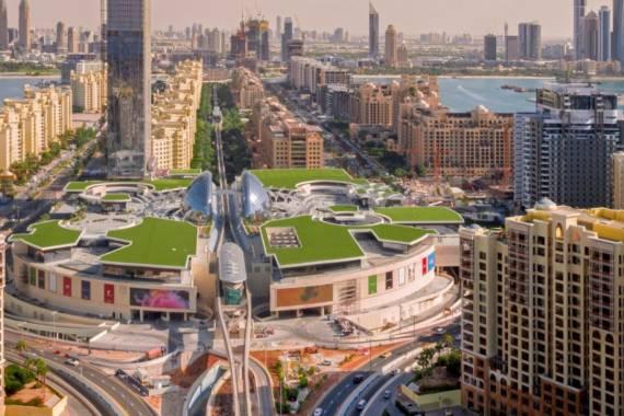 Neue Mall auf Dubais Palm Jumeirah