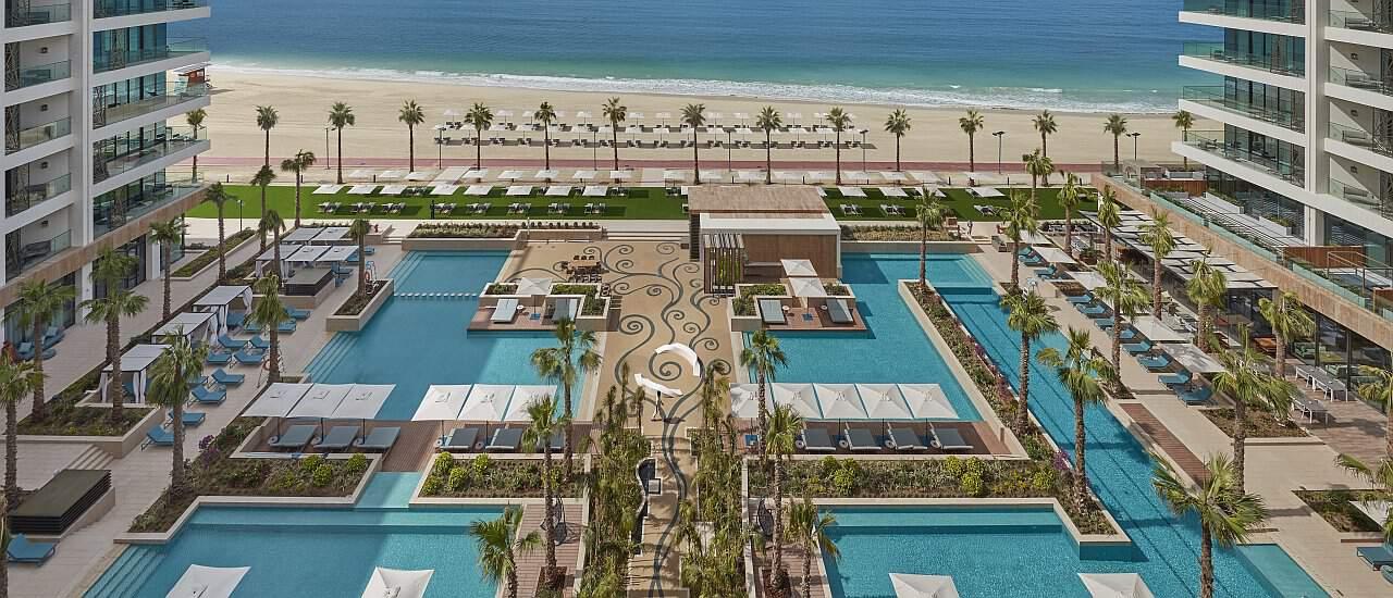 Hauptpool Mandarin Oriental Dubai