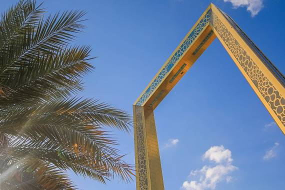 Dubai Frame: Der größte Bilderrahmen der Welt