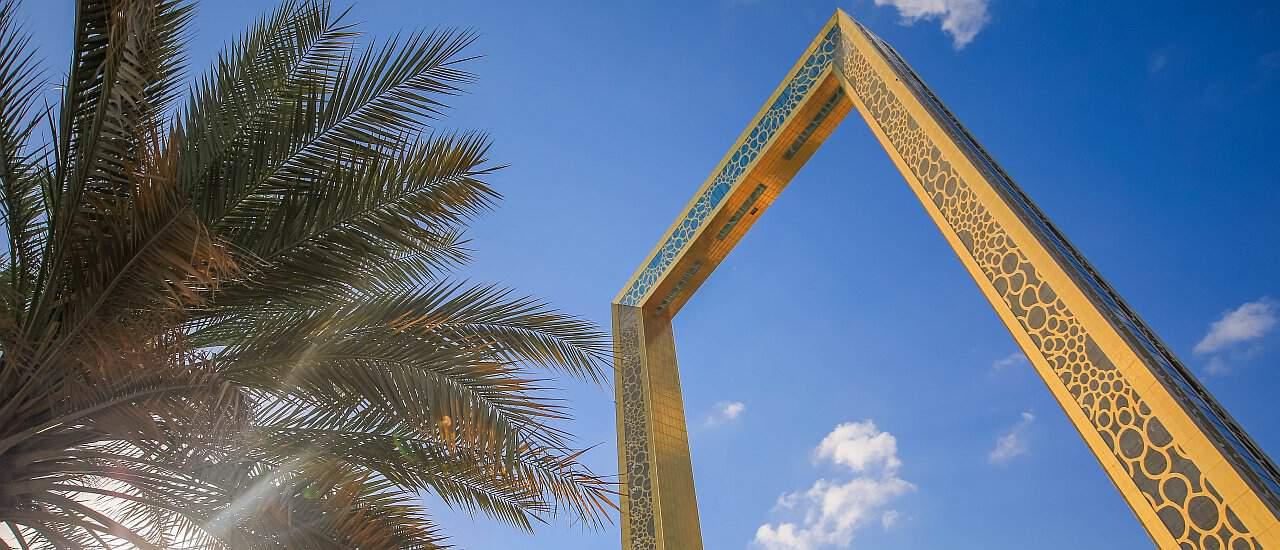 Dubai Frame Sehenswürdigkeit