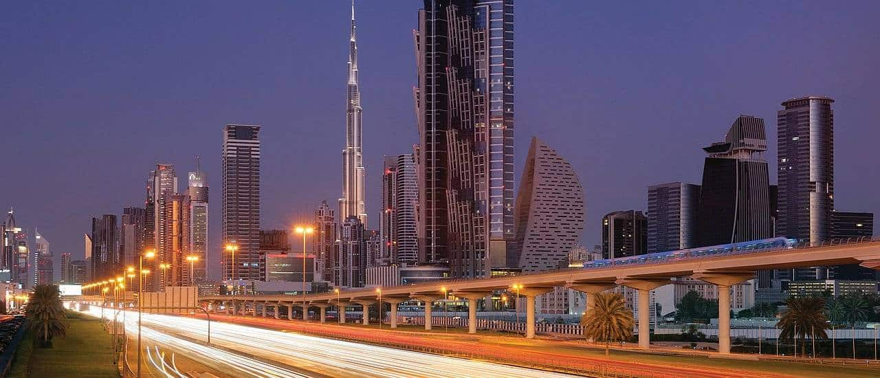 Dubai Verkerh und Transport