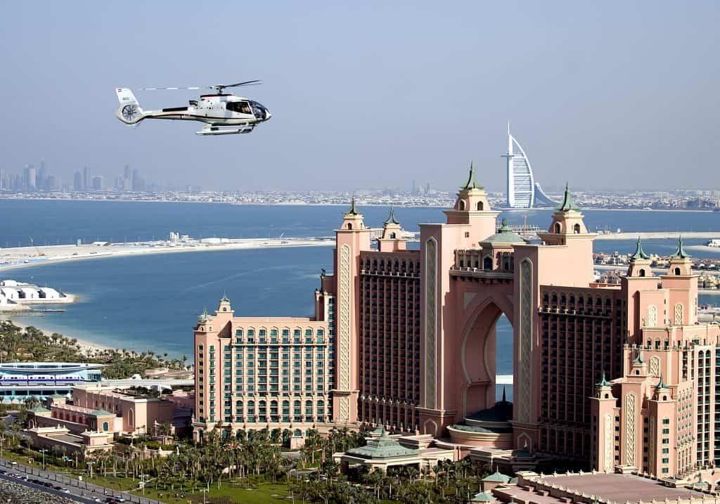Helikopterausflug Dubai