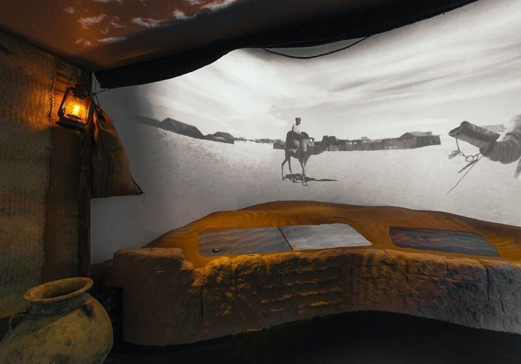 geschichte im Dubai Frame Museum