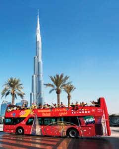 Dubai Busfahrt