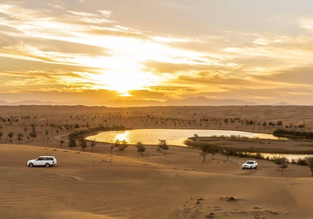 Tour in der Wüste Dubai