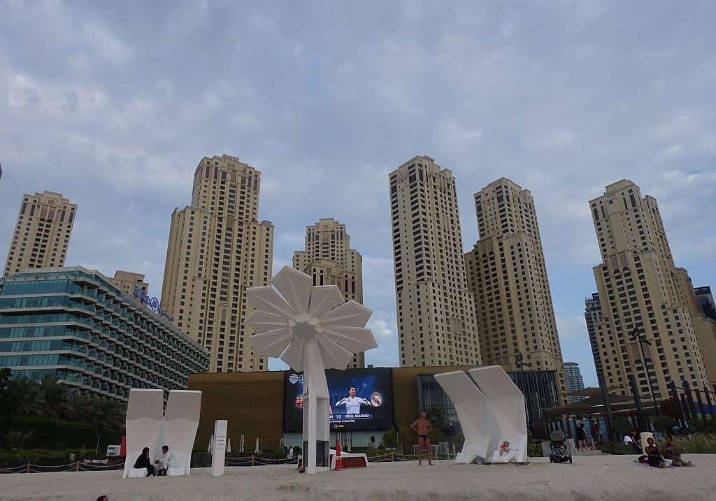 Smart Palm JBR Beach öffentliche Strände Dubai