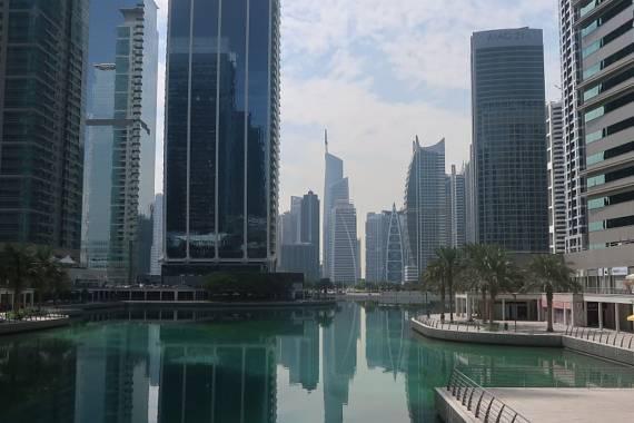 Ein Stadtteil im Portrait: Die Jumeirah Lake Towers