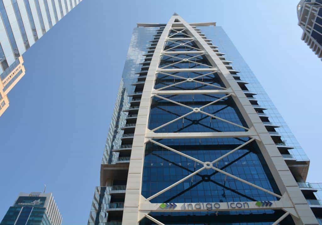 Wolkenkratzer Jumeirah Lake Towers