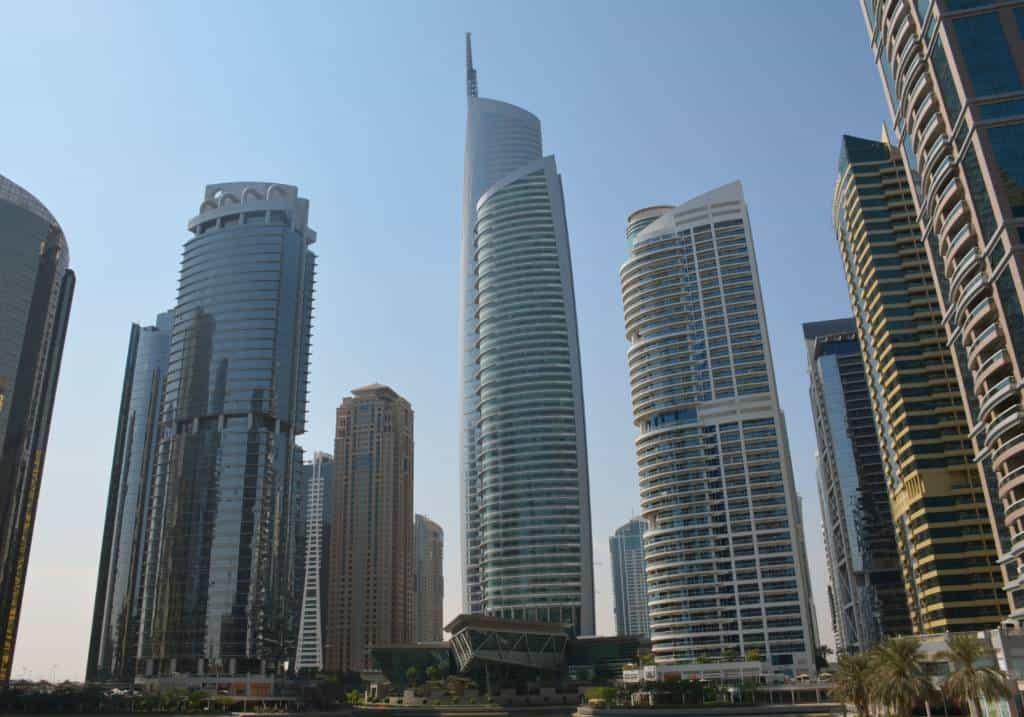 Jumeirah Lake Towers Dubais moderner Stadtteil