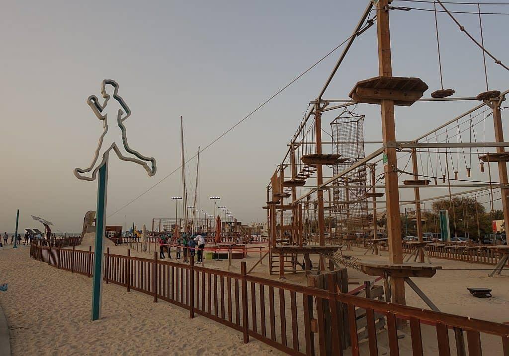 öffentliche Strände Dubai Kite Beach