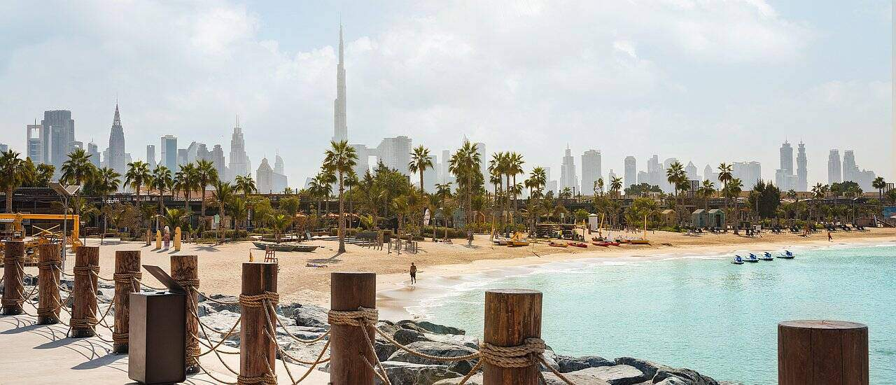 Die besten Strände in Dubai