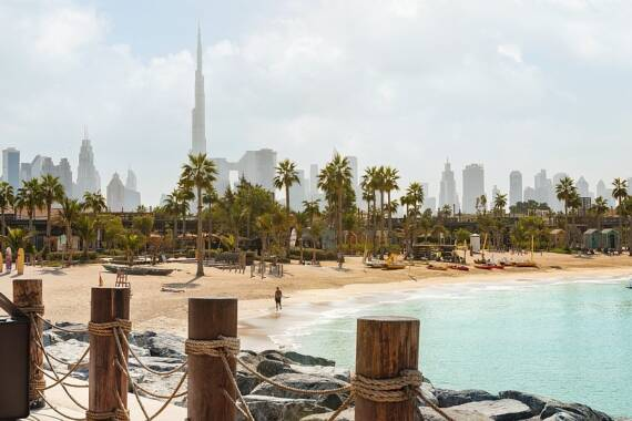 Die 7 besten, öffentlichen Strände in Dubai