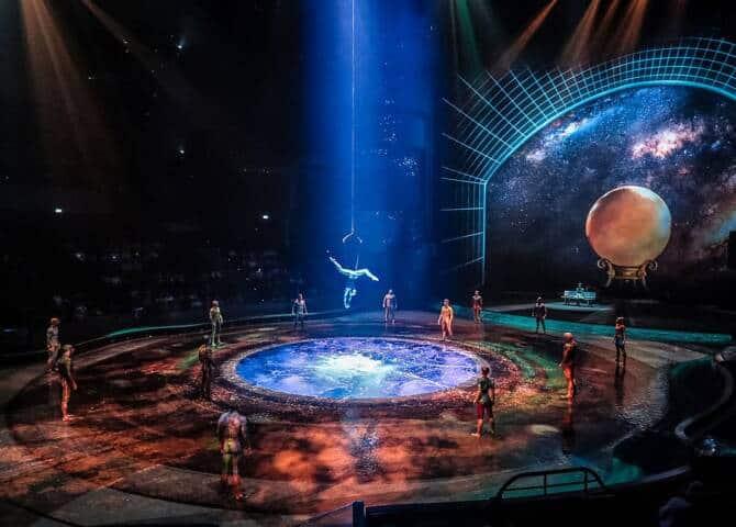 Bühne La Perle Dubai