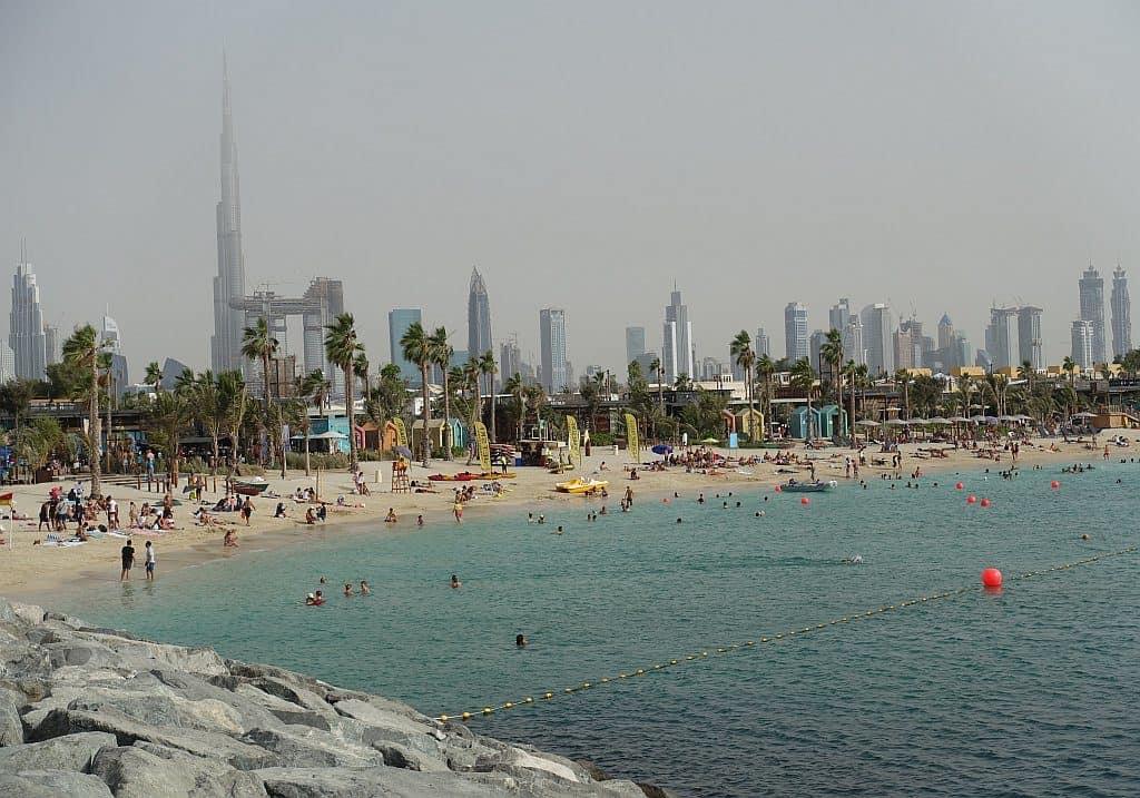 öffentliche Strände Dubai La Mer