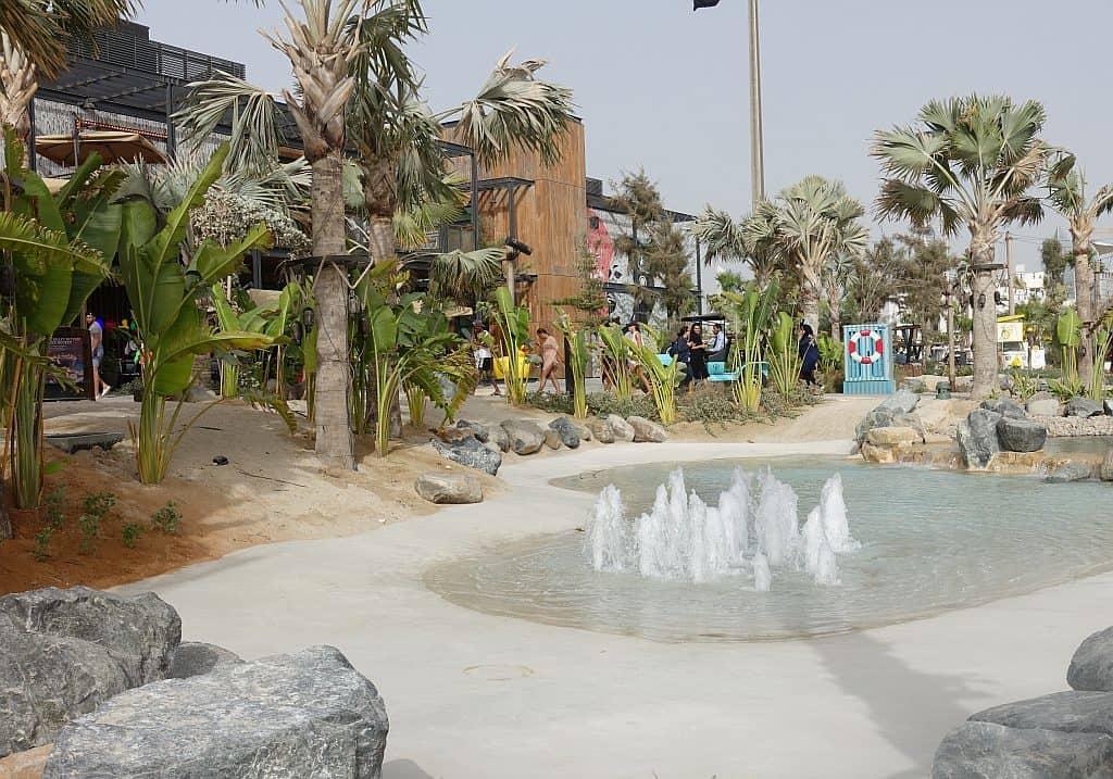 Dubai öffentliche Strände Kinder La Mer