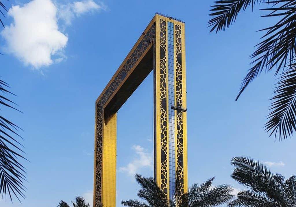 Dubai Frame Außenansicht