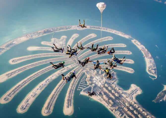 Skydive Palm Jumeirah