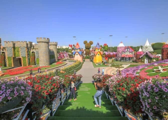 Blumengarten Dubai