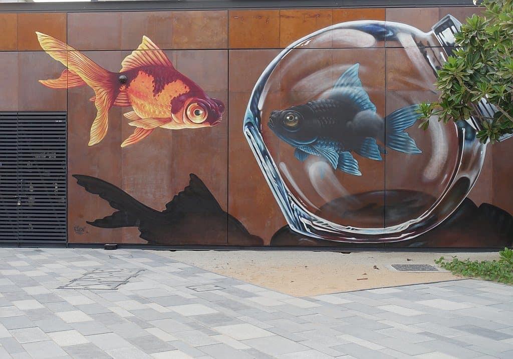 Dubai Street Art la Mer