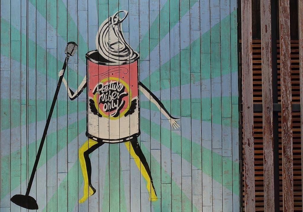 Street Art la Mer