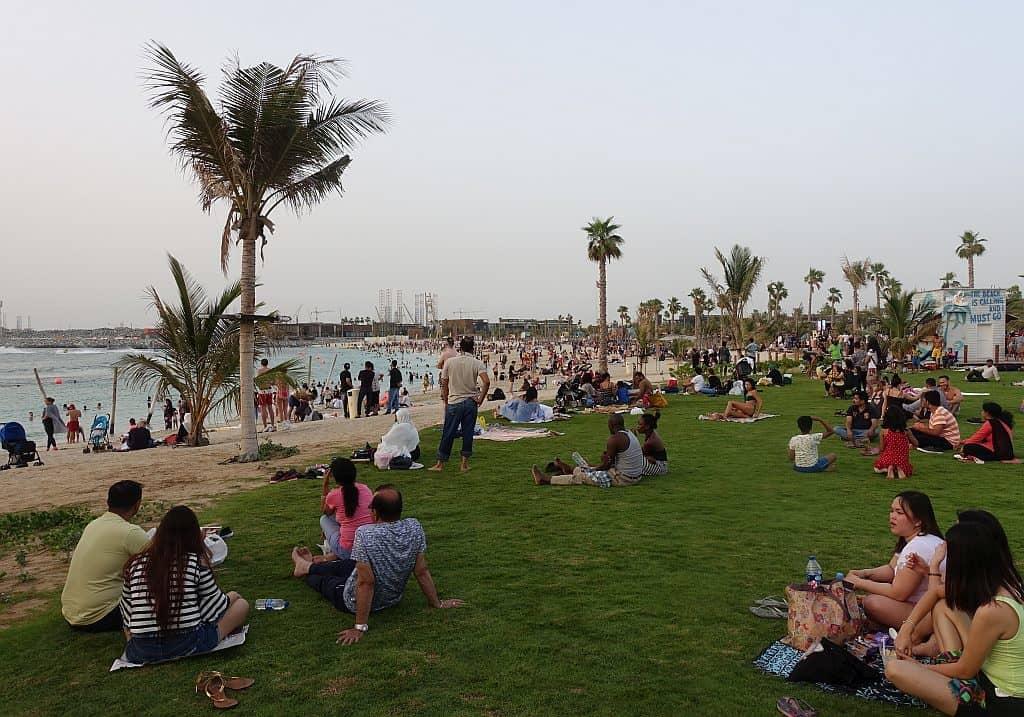 öffentliche Strände DubaiNorth Beach La Mer