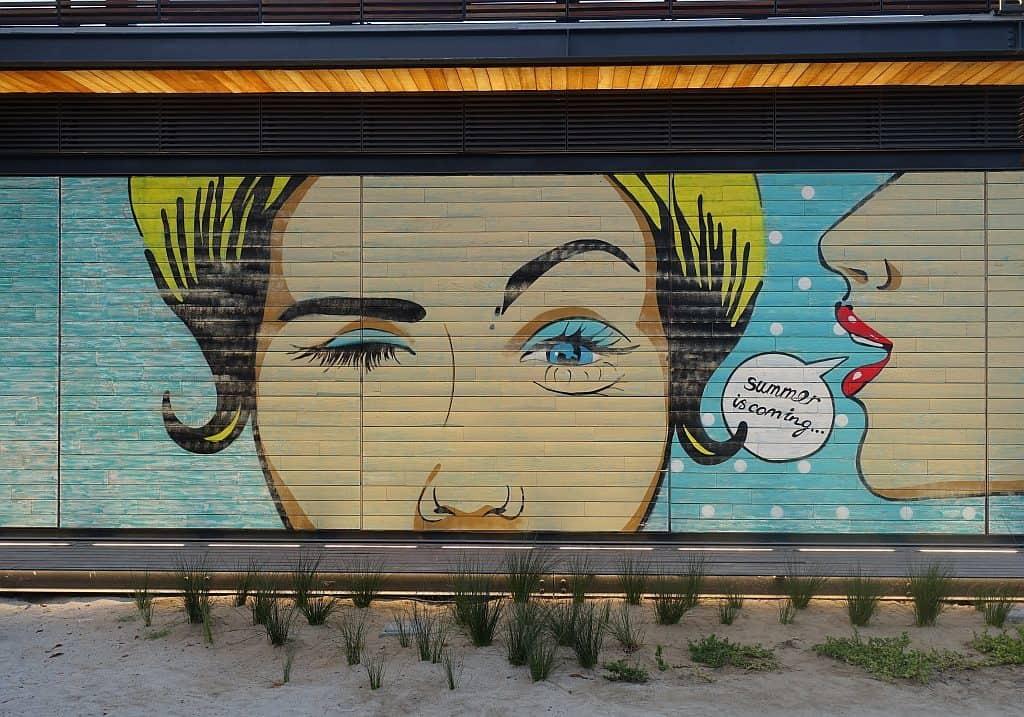 Dubai Street Art - La Mer