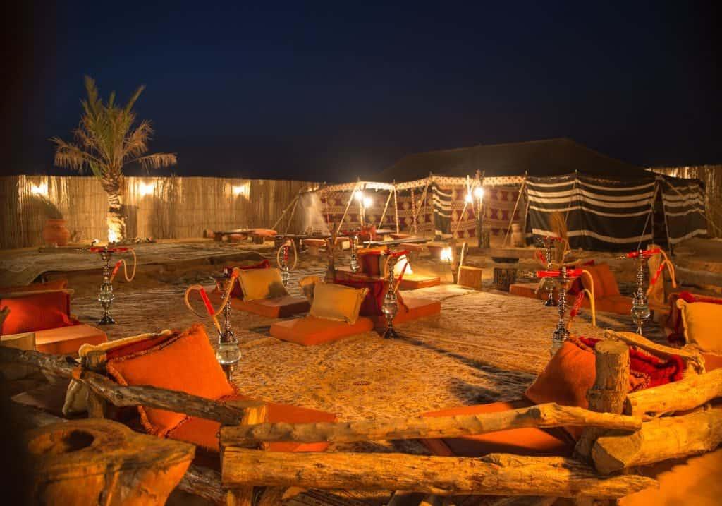 Loungeecke Safari Camp Dubai