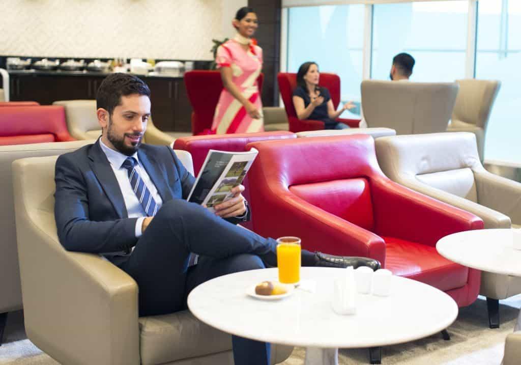 Businees Lounge Dubai