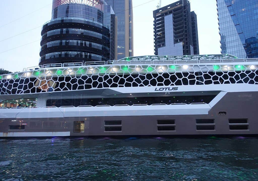 Dinner Cruise an der Dubai Marina