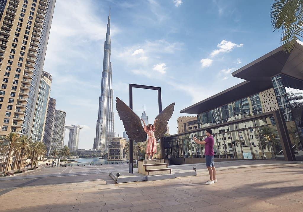 Selfie Downtown Dubai