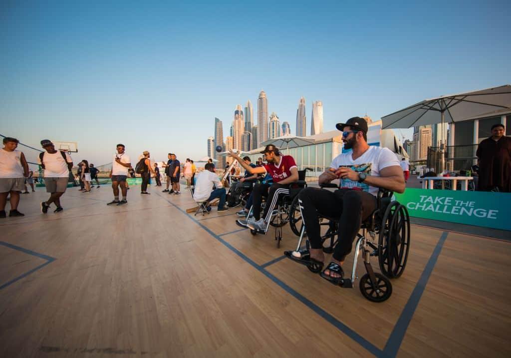 Wohltätigkeitstunier Dubai Fitness Challenge