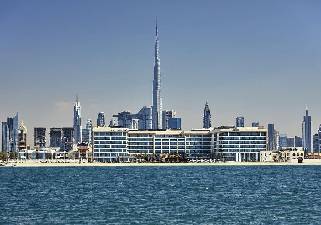 Außensicht Mandarin Oriental Jumeira, Dubai