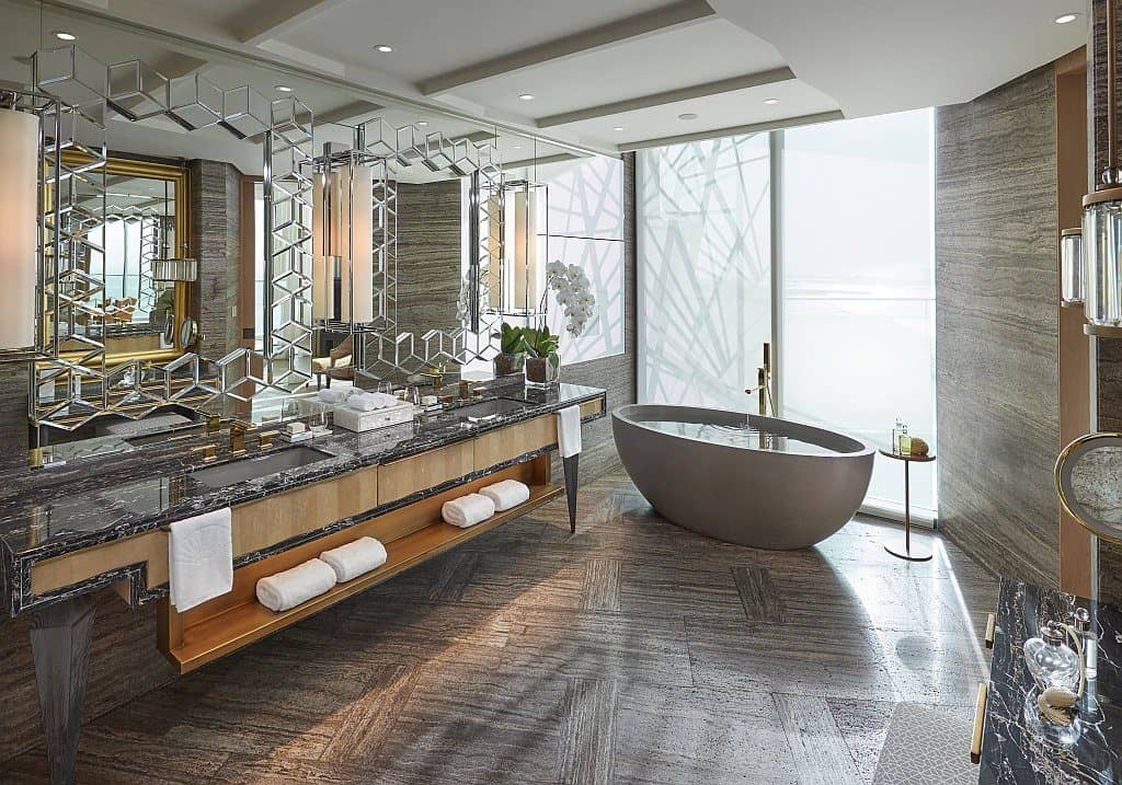 Bad Suite Mandarin Oriental Dubai
