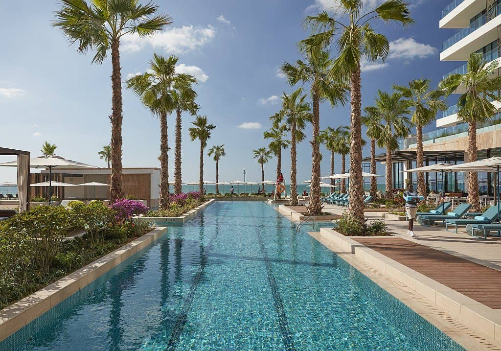 Pool im Mandarin Oriental Dubai