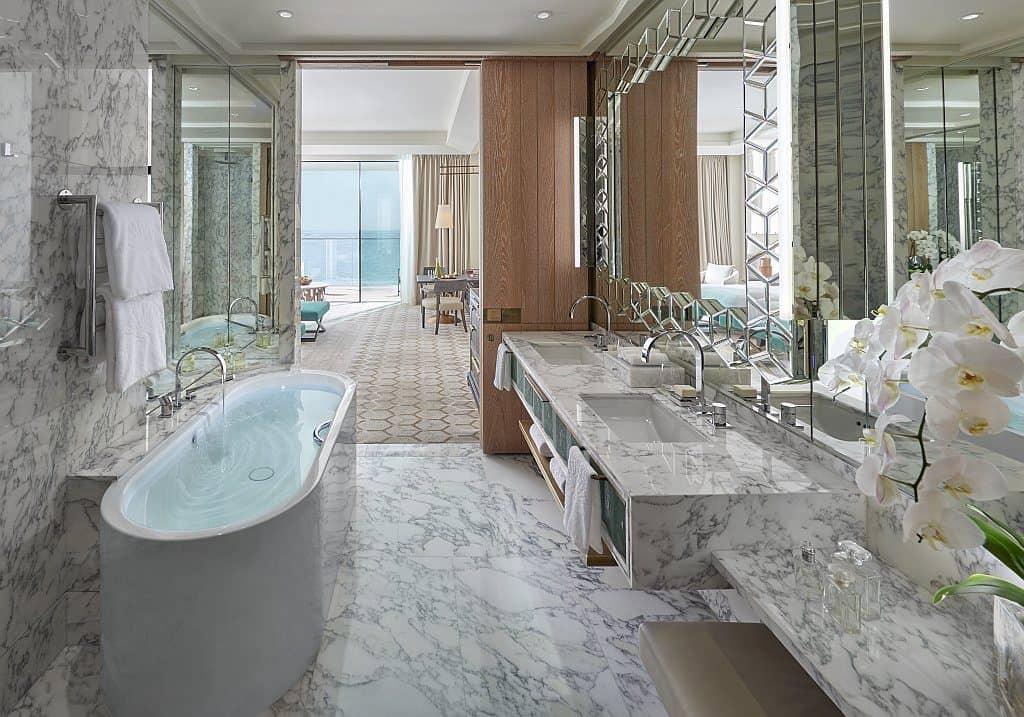 Badezimmer Suite Mandarin Oriental Dubai