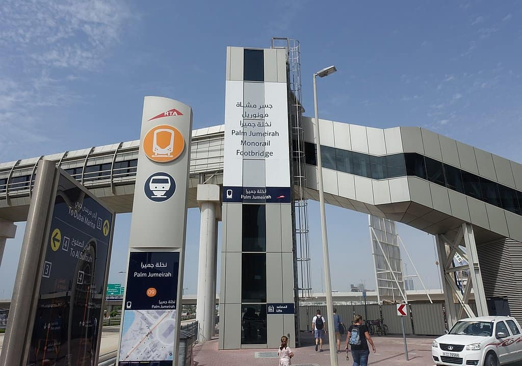Interconnection Dubai Monorail