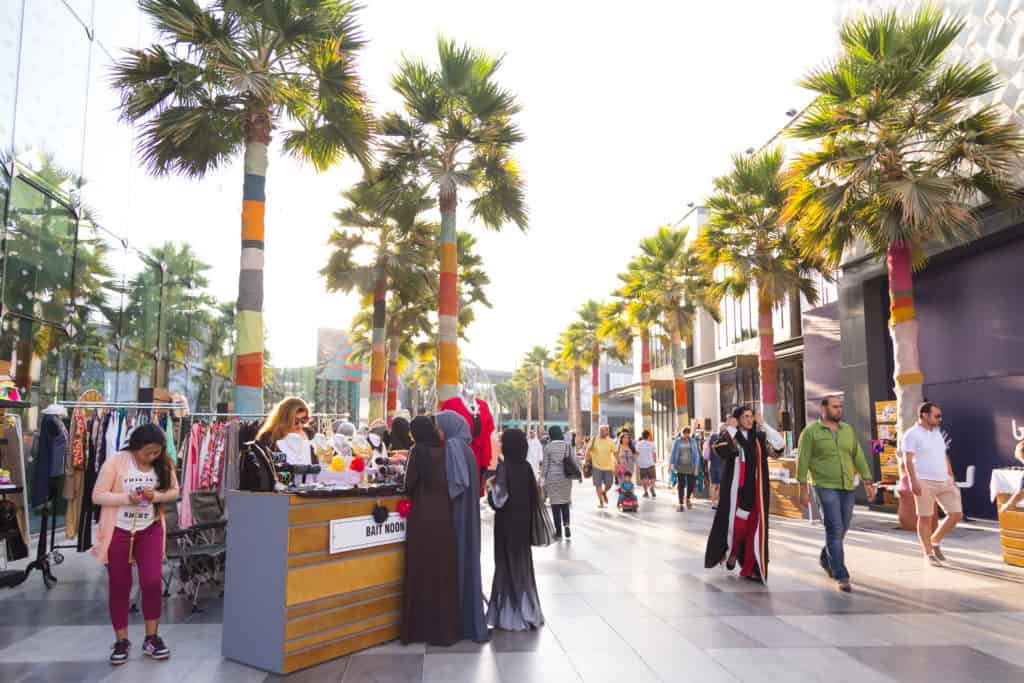 Promenade City Walk Dubai