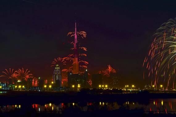 Nationalfeiertag der VAE 2019 in Dubai