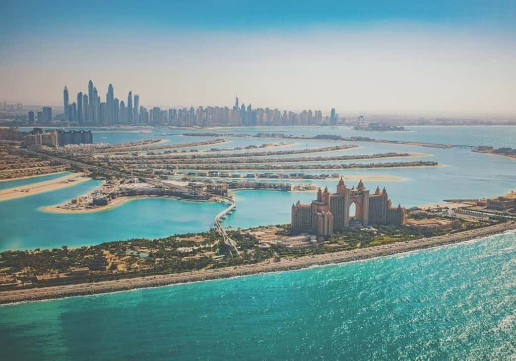 Dubai Atlantis The Palm Helikopter