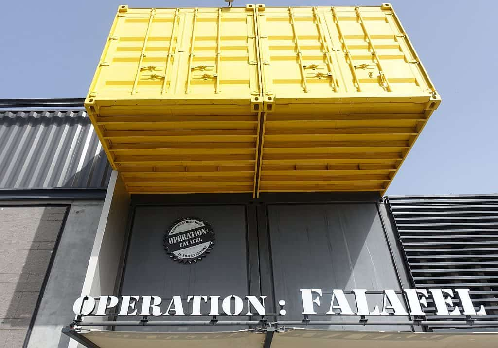 Boxpark Operation Falafel