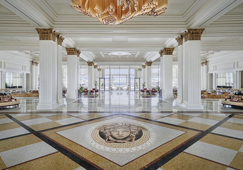 Lobby Palazzo Versace