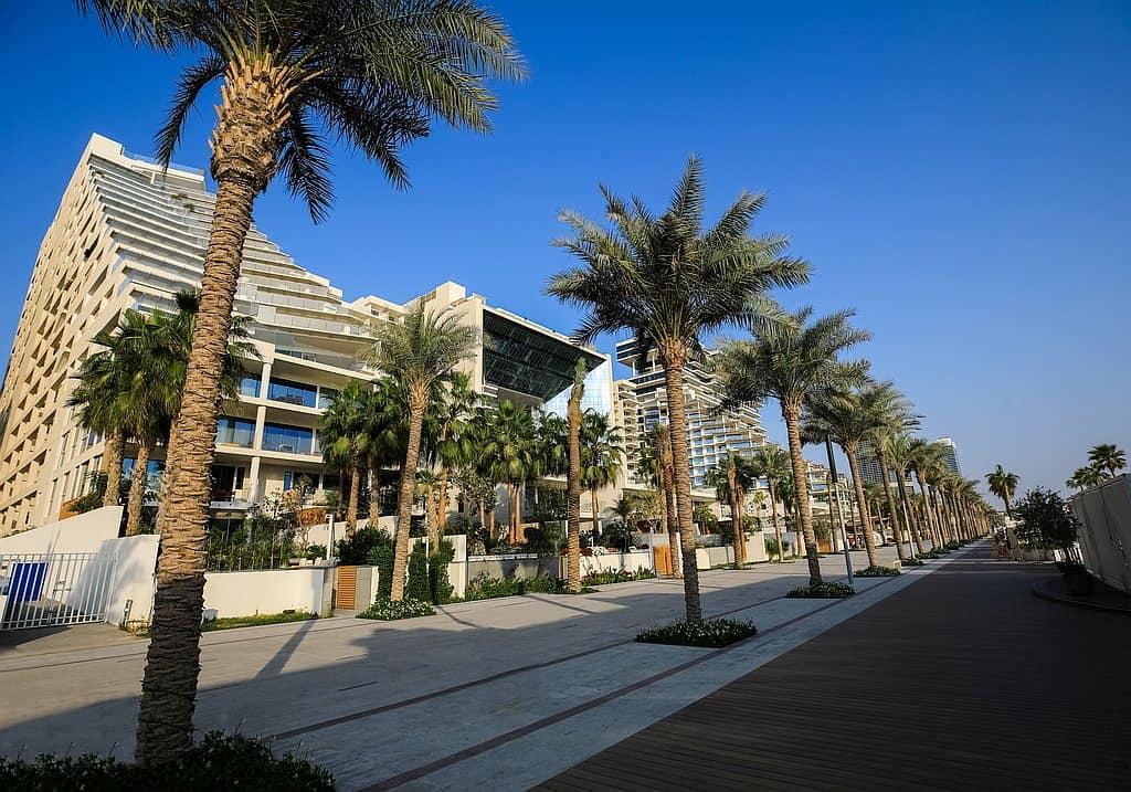 Promenade Palm West Beach Dubai