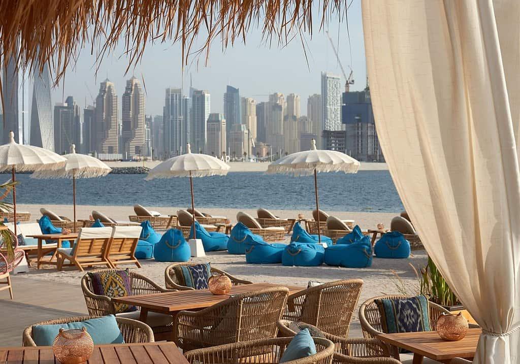 Beach Bar palm West Beach Dubai