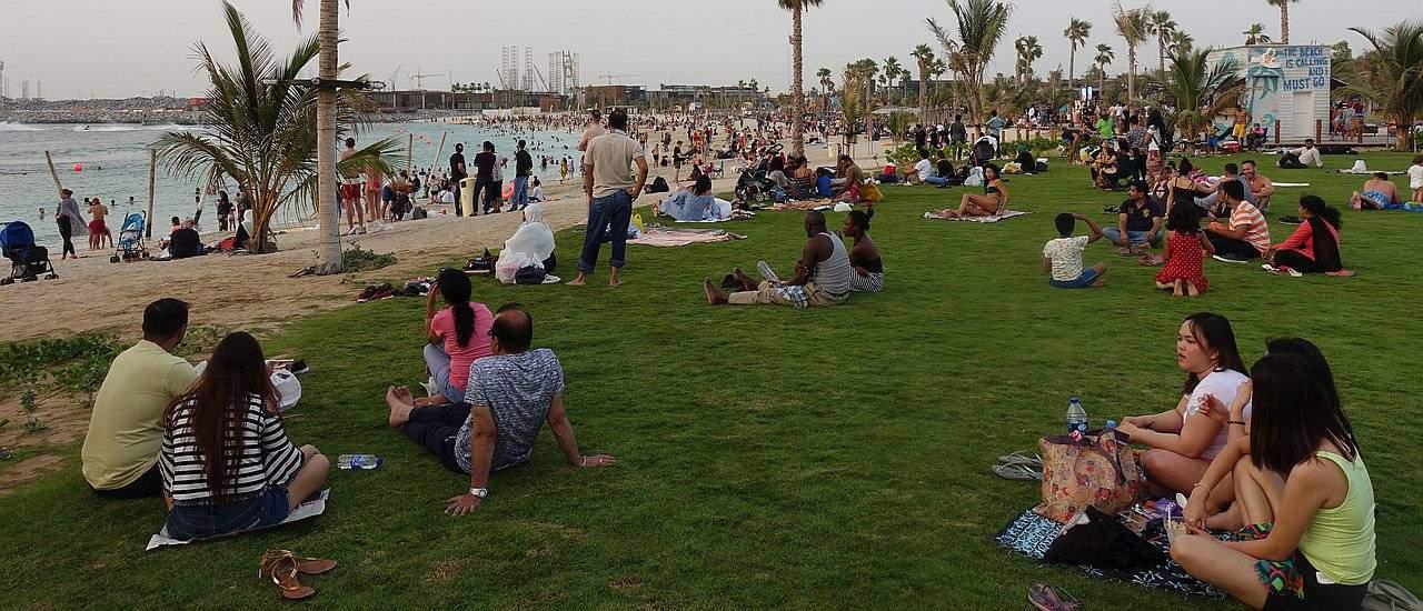 Die besten Picknickplätze in Dubai