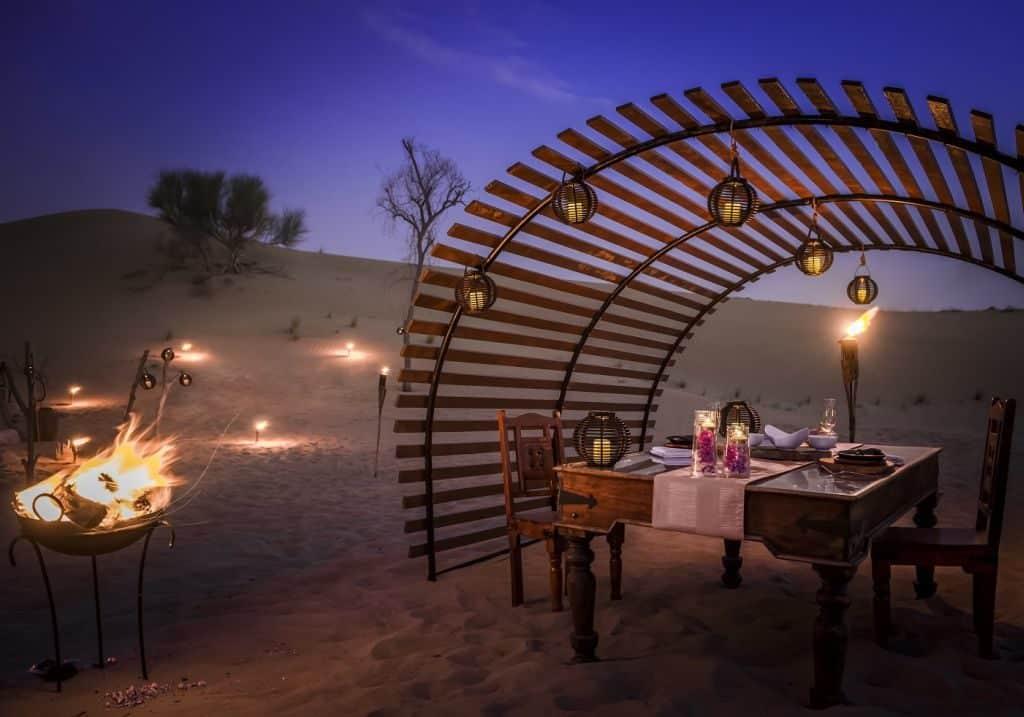 Wüstendinner Dubai