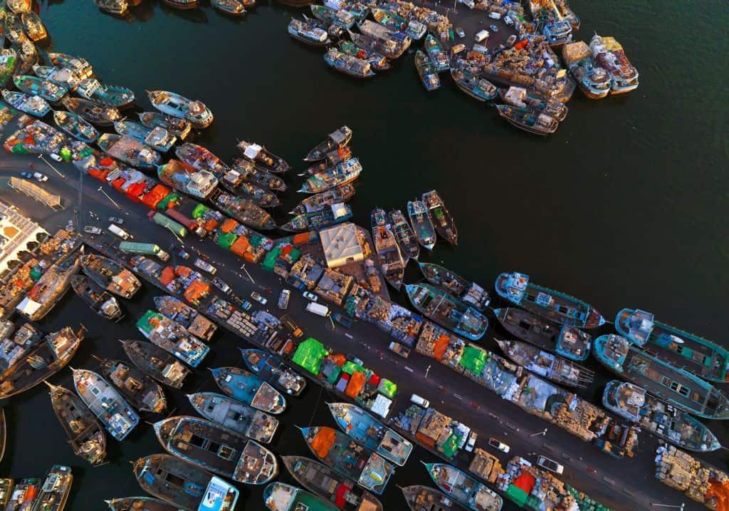 Hafen Dubai Creek
