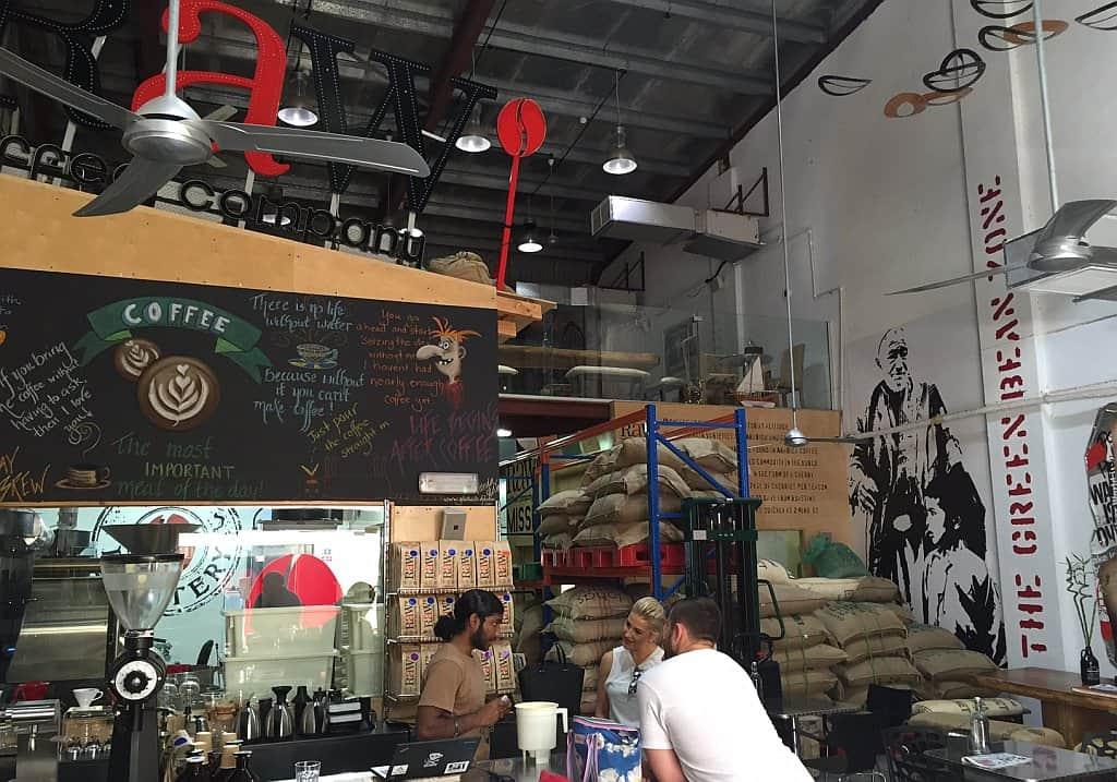 Kaffeerösterei Dubai