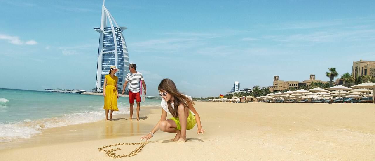Reise Dubai Fmailie