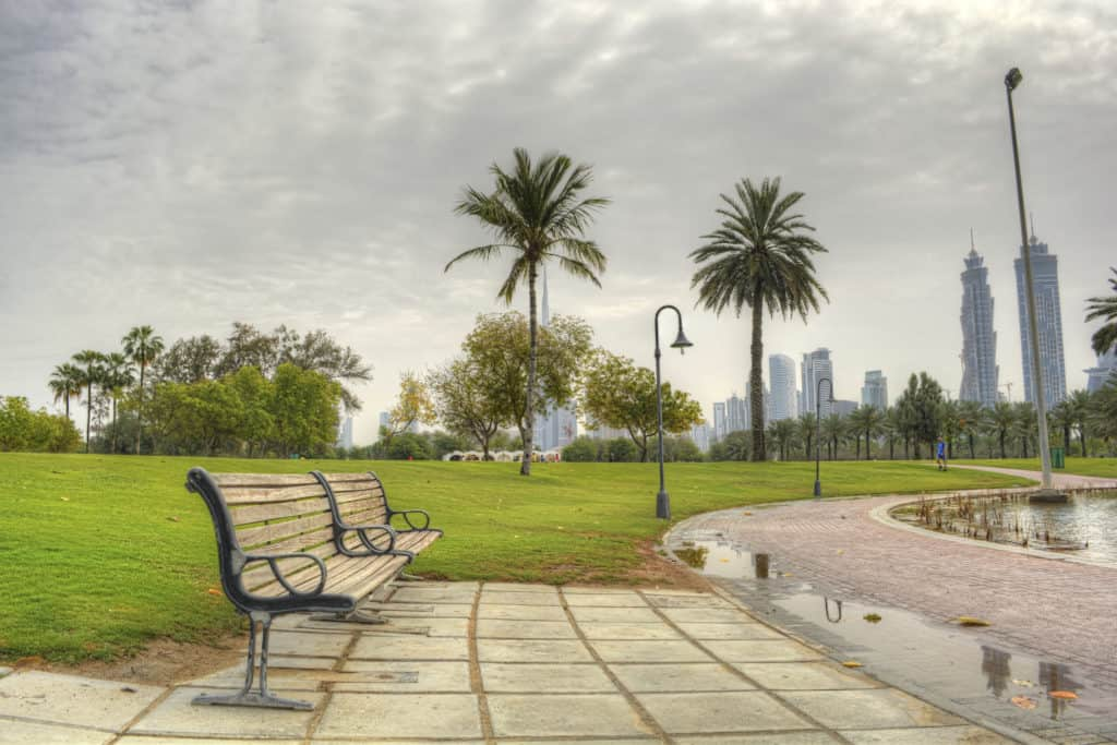 Bank im Safa Park Dubai