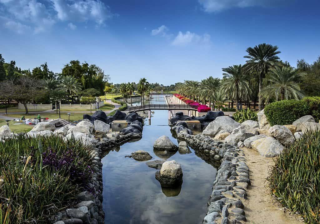 Wasserlauf im Safa Park